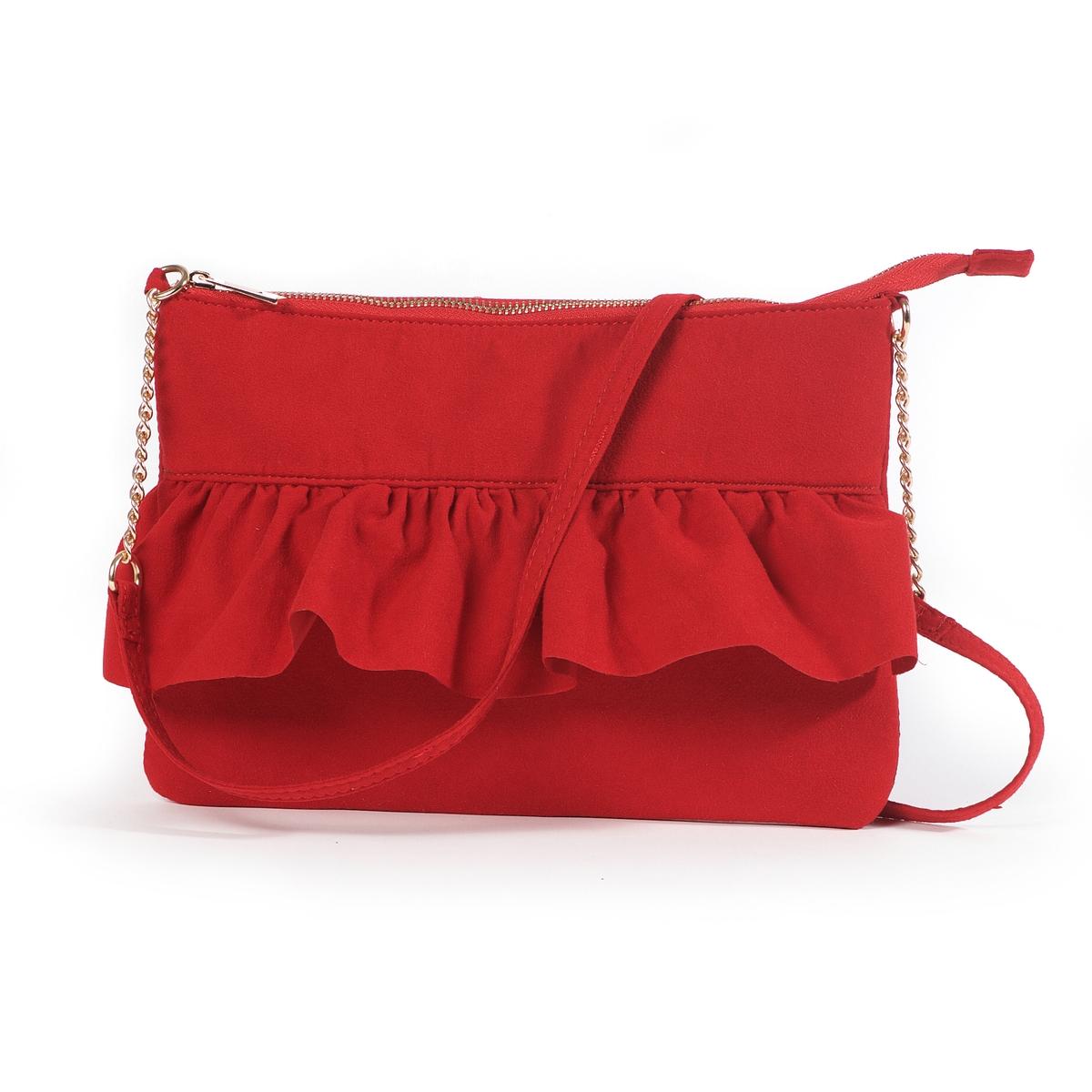 Сумка-клатч с воланами сумка клатч renato angi сумка клатч
