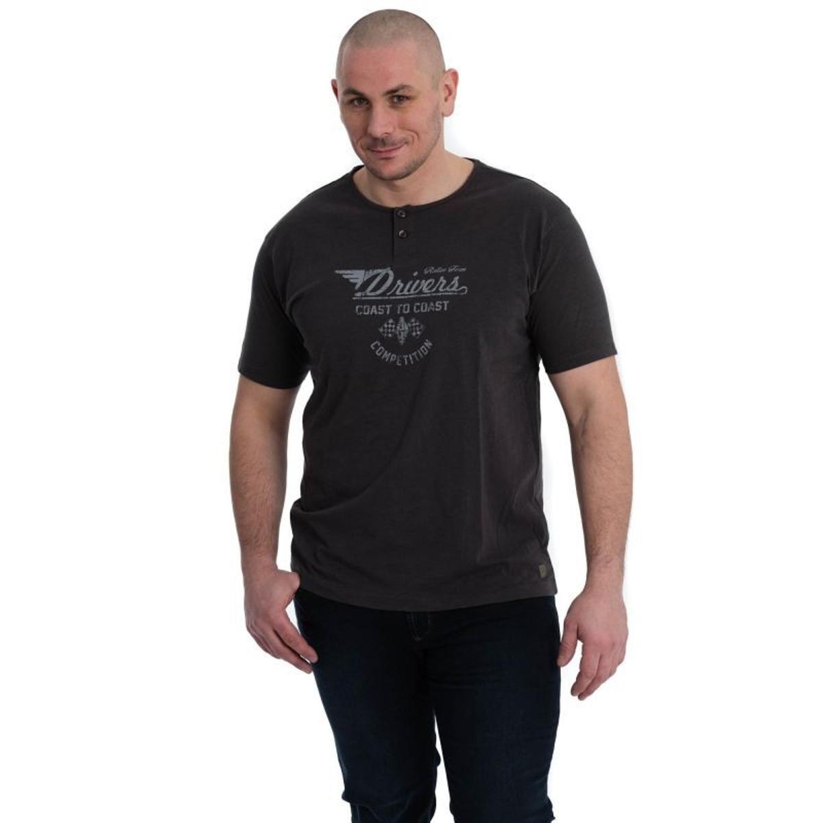T Shirt à Motifs en Coton