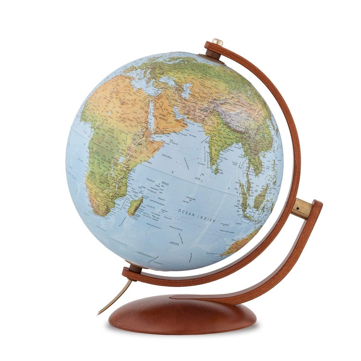 Globe terrestre relief