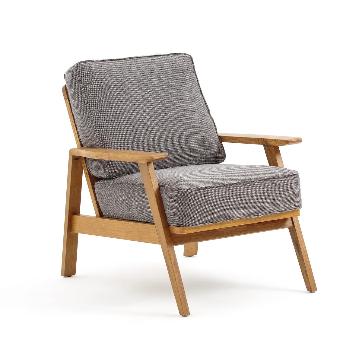 Кресло LaRedoute Винтажное Linna единый размер серый