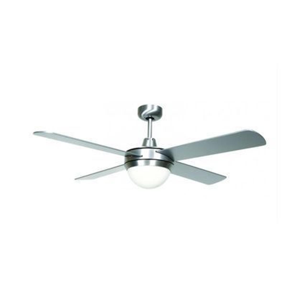 Ventilateur de plafond Futura Eco Chrome brossé 122 cm - LUCCI AIR -