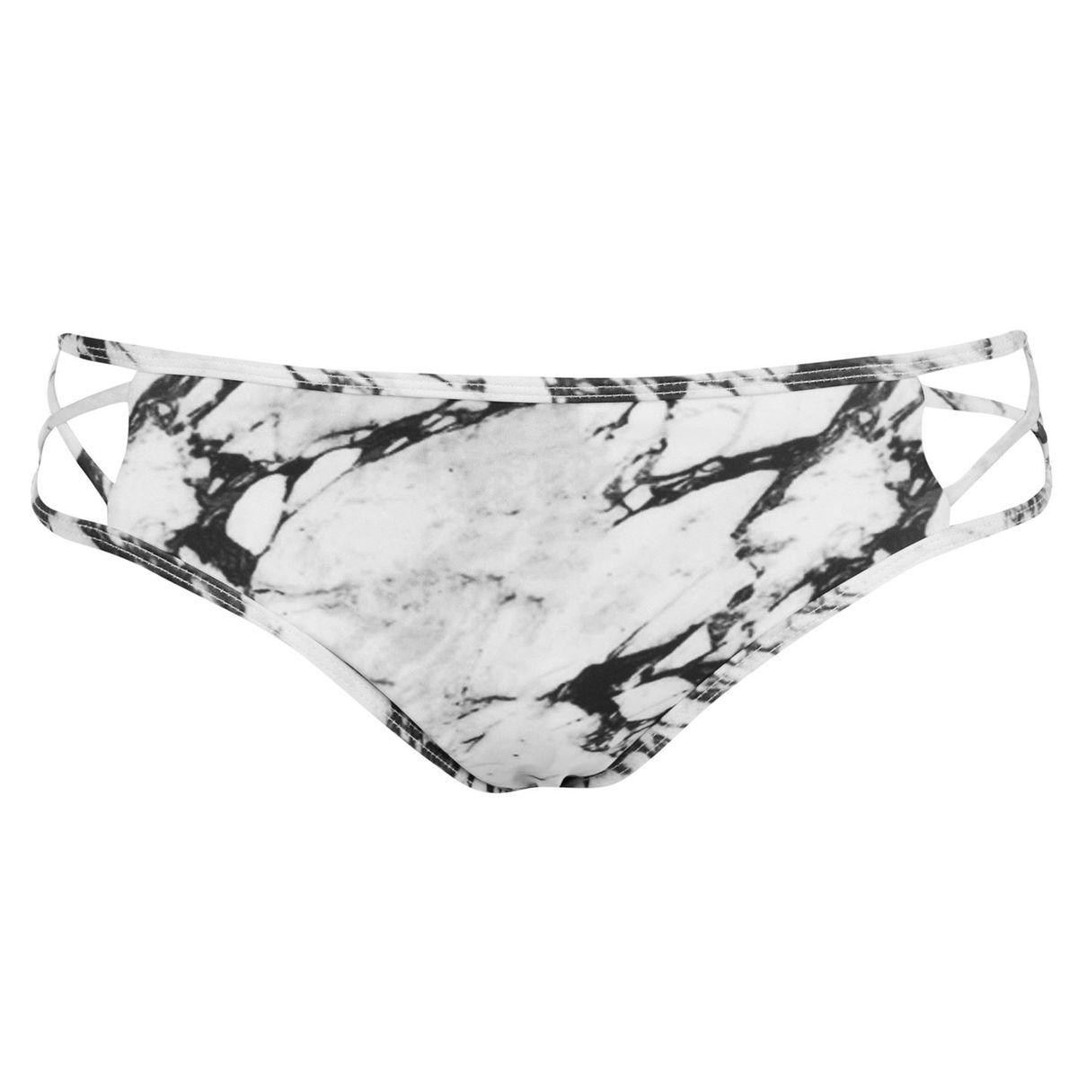 Bas de bikini taille élastique