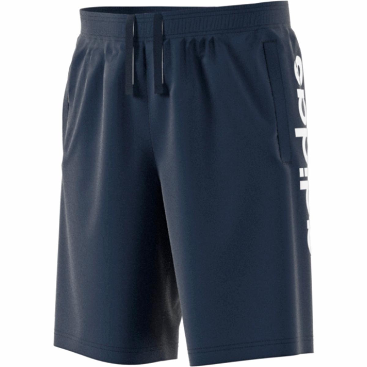 Shorts in jersey con maxi logo