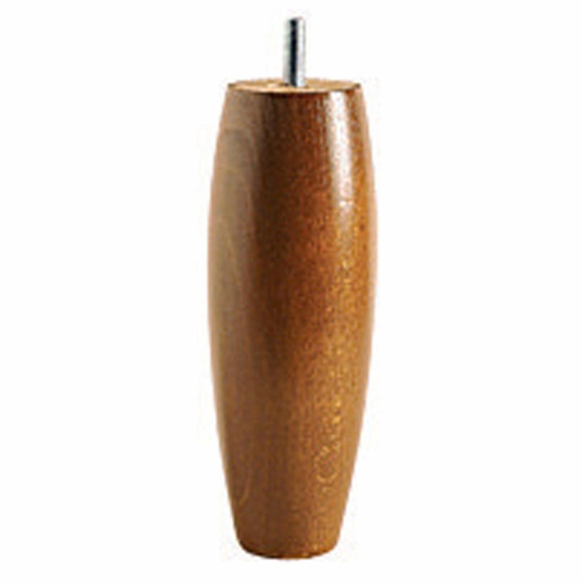 Комплект из 4 ножек в LaRedoute Форме оливы для кроватного основания единый размер каштановый основания для кроватей