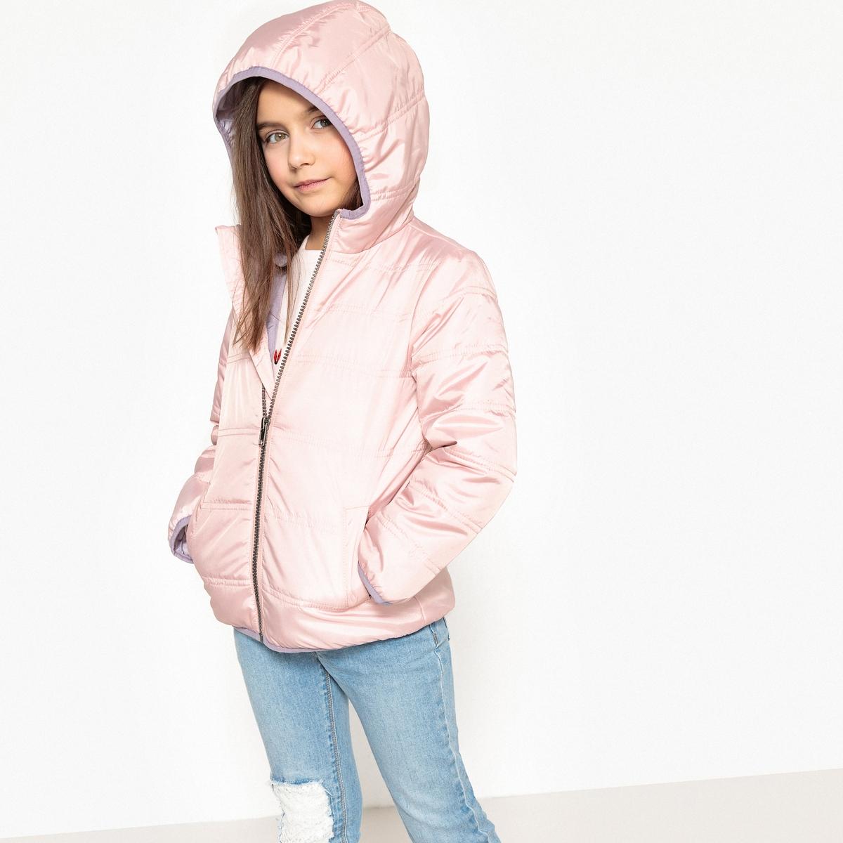 Куртка стеганая с капюшоном 3-12 лет