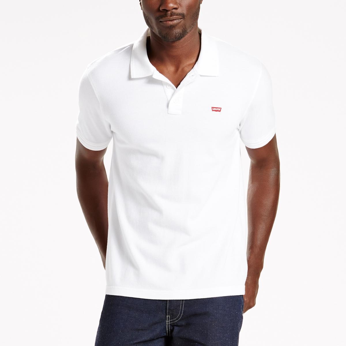 Image of Logo Cotton Polo Shirt