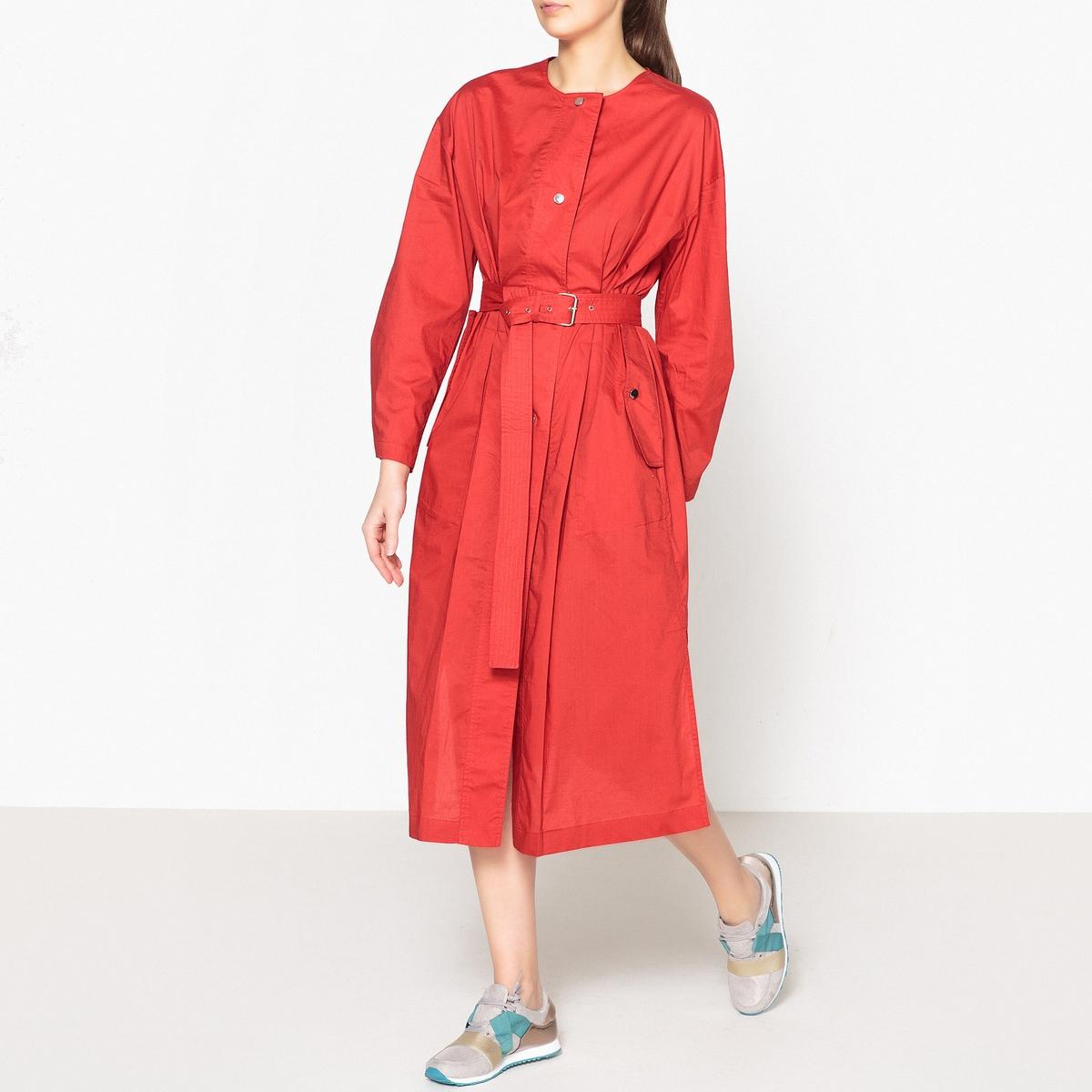 Платье на пуговицах с длинными рукавами SHELF от LAURENCE BRAS