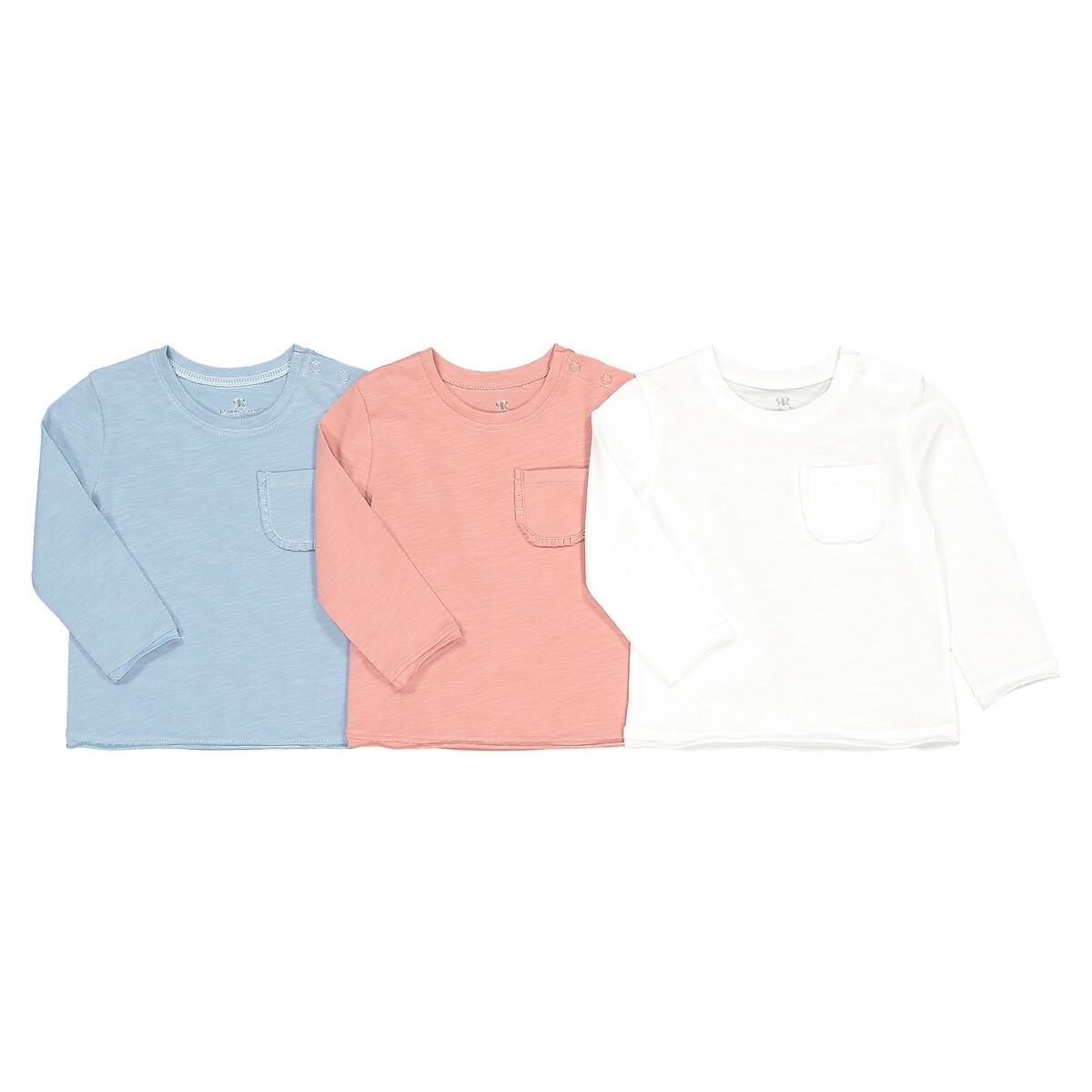 Комплект из 3 футболок с LaRedoute