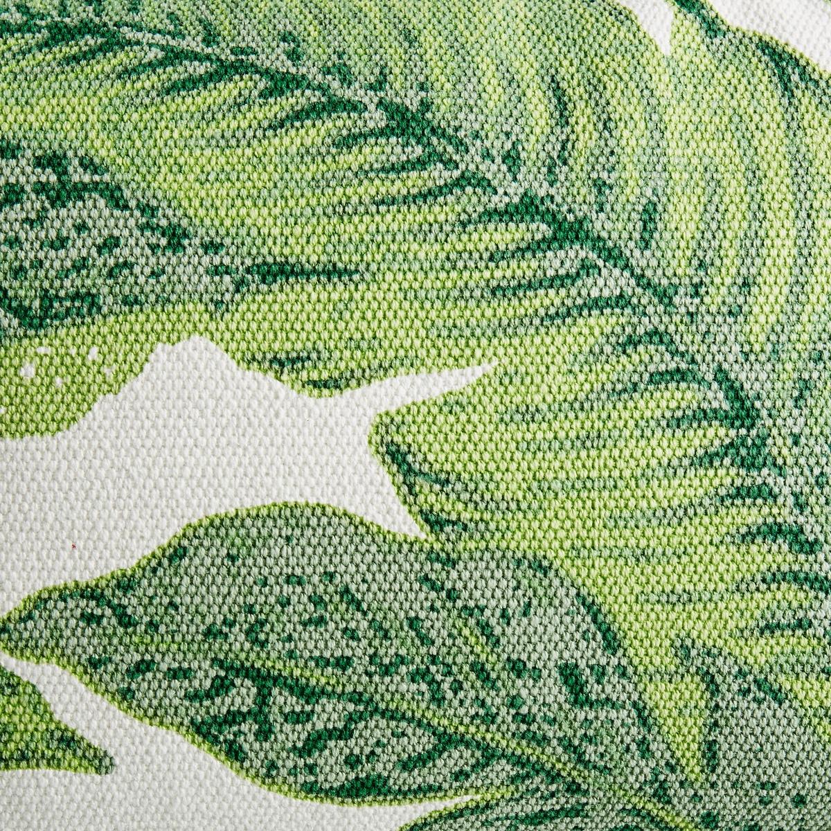 Чехол на подушку SaskiaЧехол на подушку с рисунком листья. 100 % хлопка. Застежка на молнию.Размеры:. 60 x 40 см.<br><br>Цвет: набивной рисунок<br>Размер: 60 x 40  см