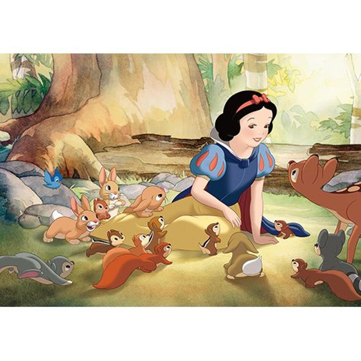 papier peint Disney Blanche neige- 104 x 70.5 cm