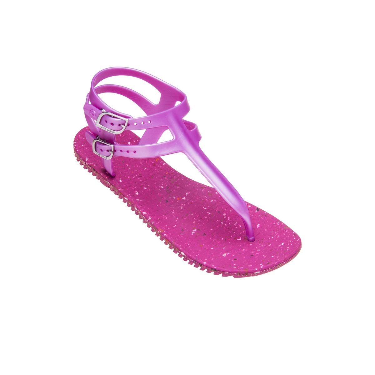 Sandales femme Eco Gladiator Rose