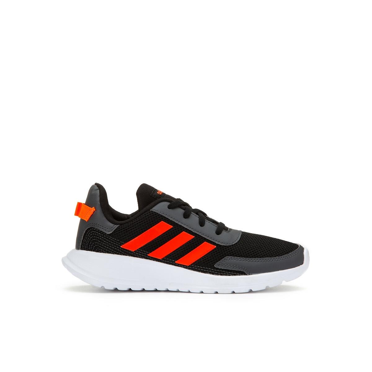 Adidas Performance Tensaur Run K hardloopschoenen zwart/rood kids online kopen