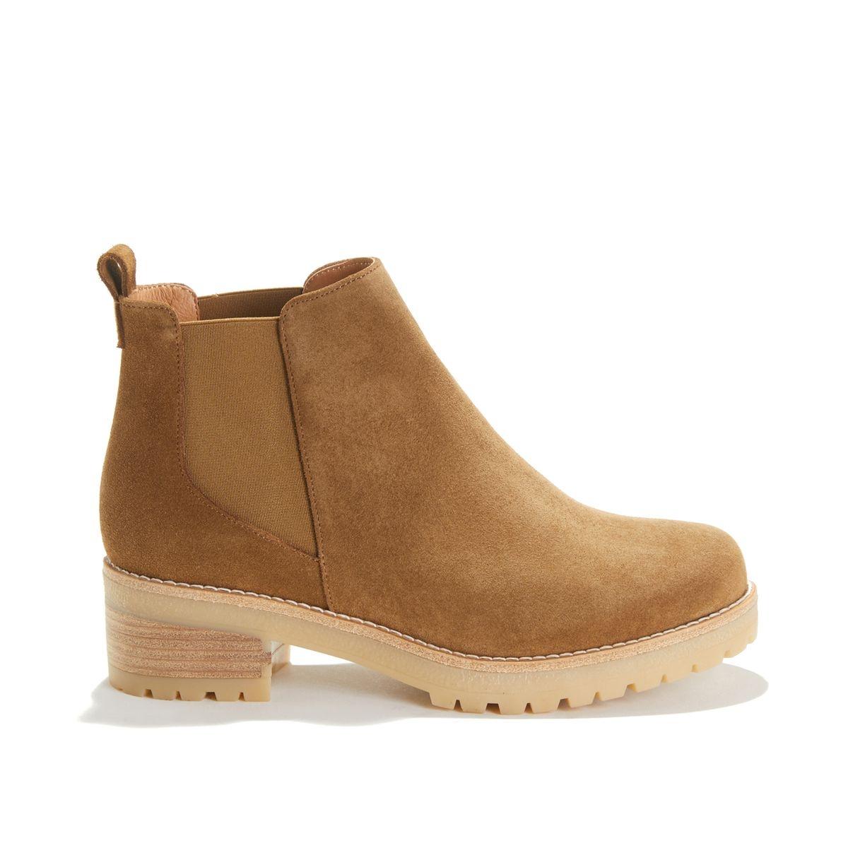 Boots à talon en cuir CORDOBA