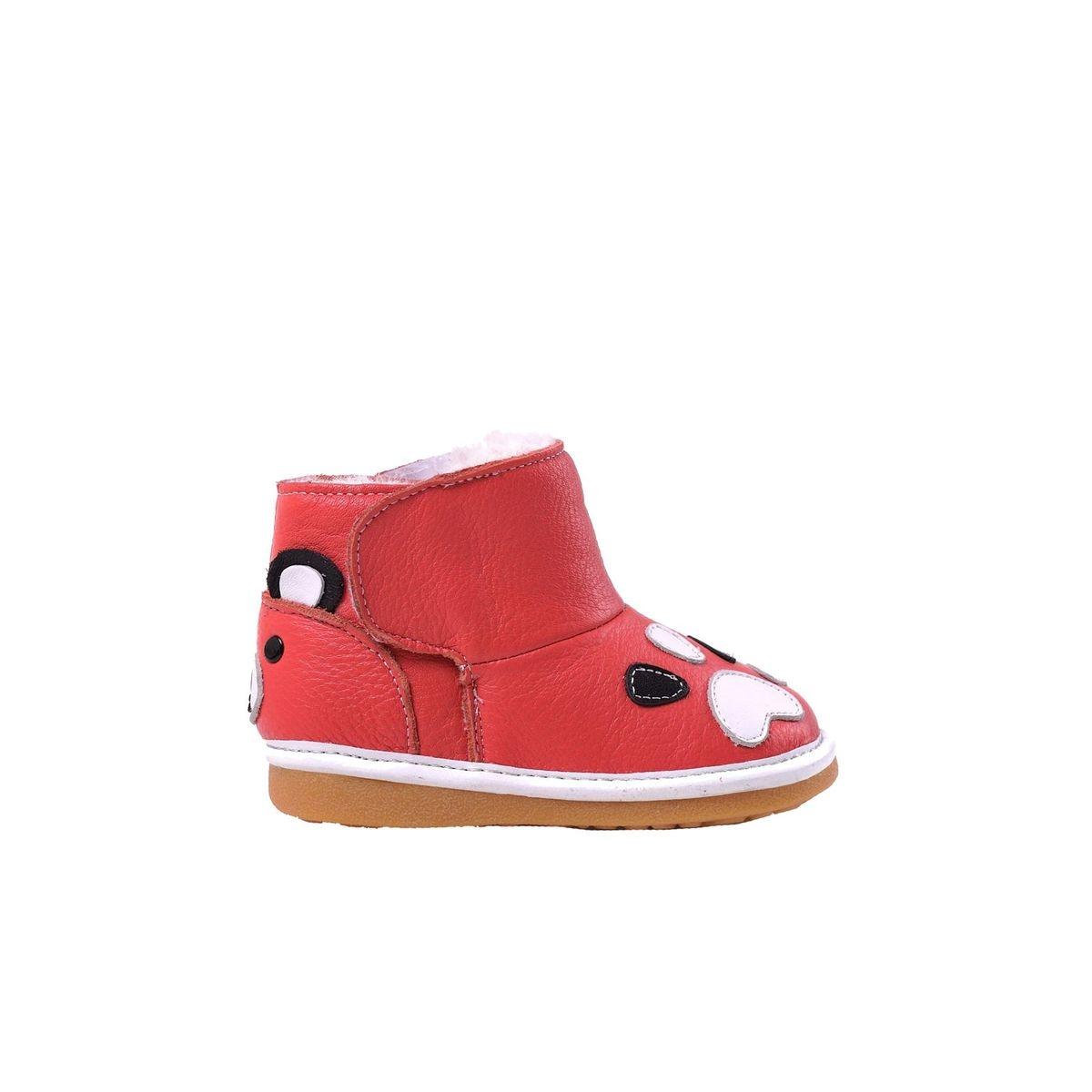 Chaussures semelle souple bottes fourrées