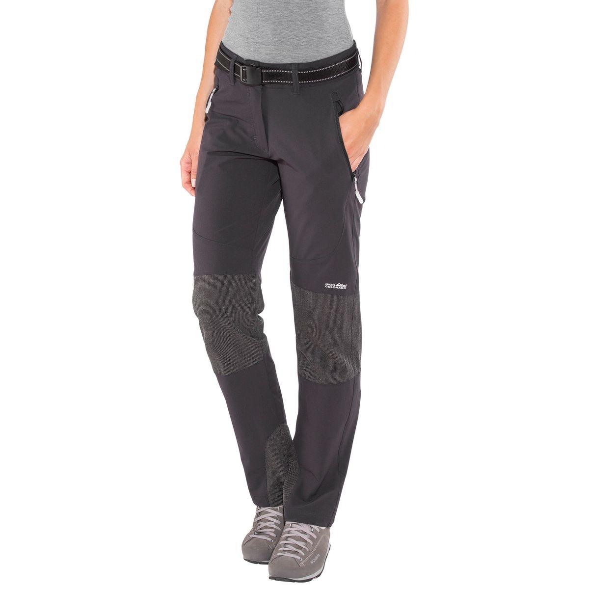 Spitzing - Pantalon Femme - gris/noir