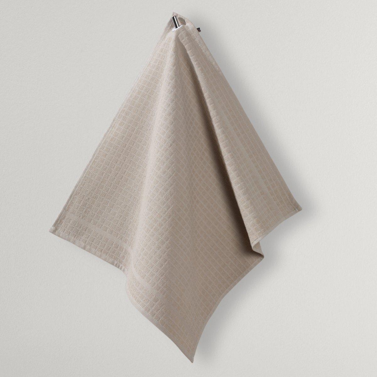 Полотенце для рукПолотенце для рук. Из прочной махровой ткани в клетку, 100% хлопка. С люверсом. Стирка при 60°. Размер: 50 х 50 см.<br><br>Цвет: серо-бежевый