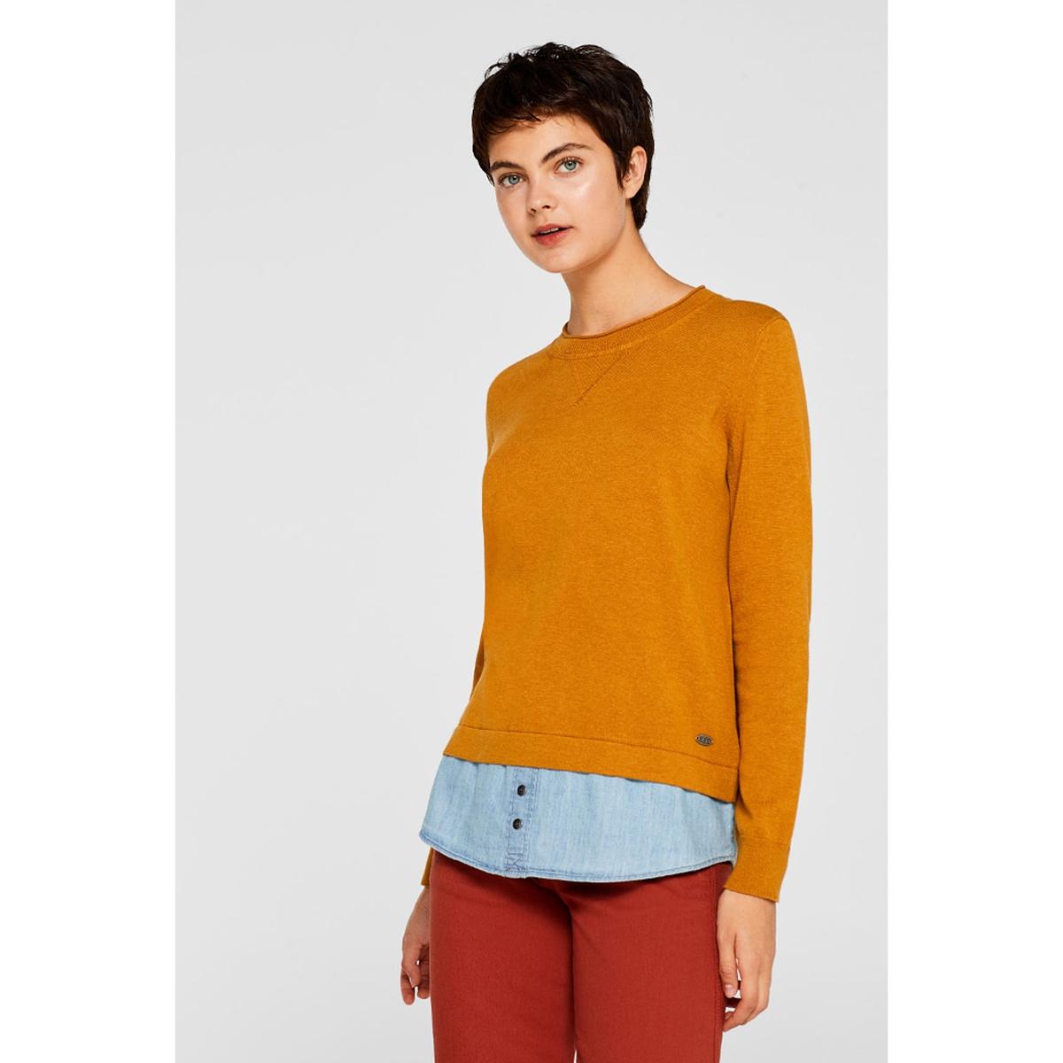 Jersey 2 en 1 camisa vaquera