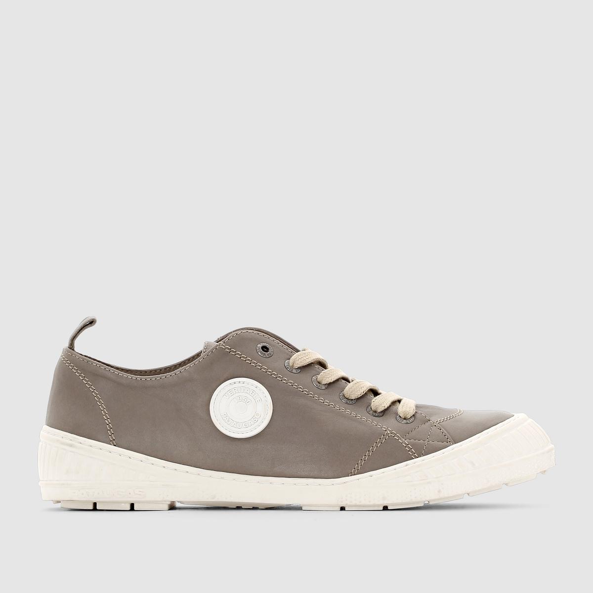 Кеды низкие, ROCK - PATAUGASЗастежка: на шнуровке.Преимущества: простота и стиль кожаных кед от Pataugas.<br><br>Цвет: хаки<br>Размер: 41.42.40