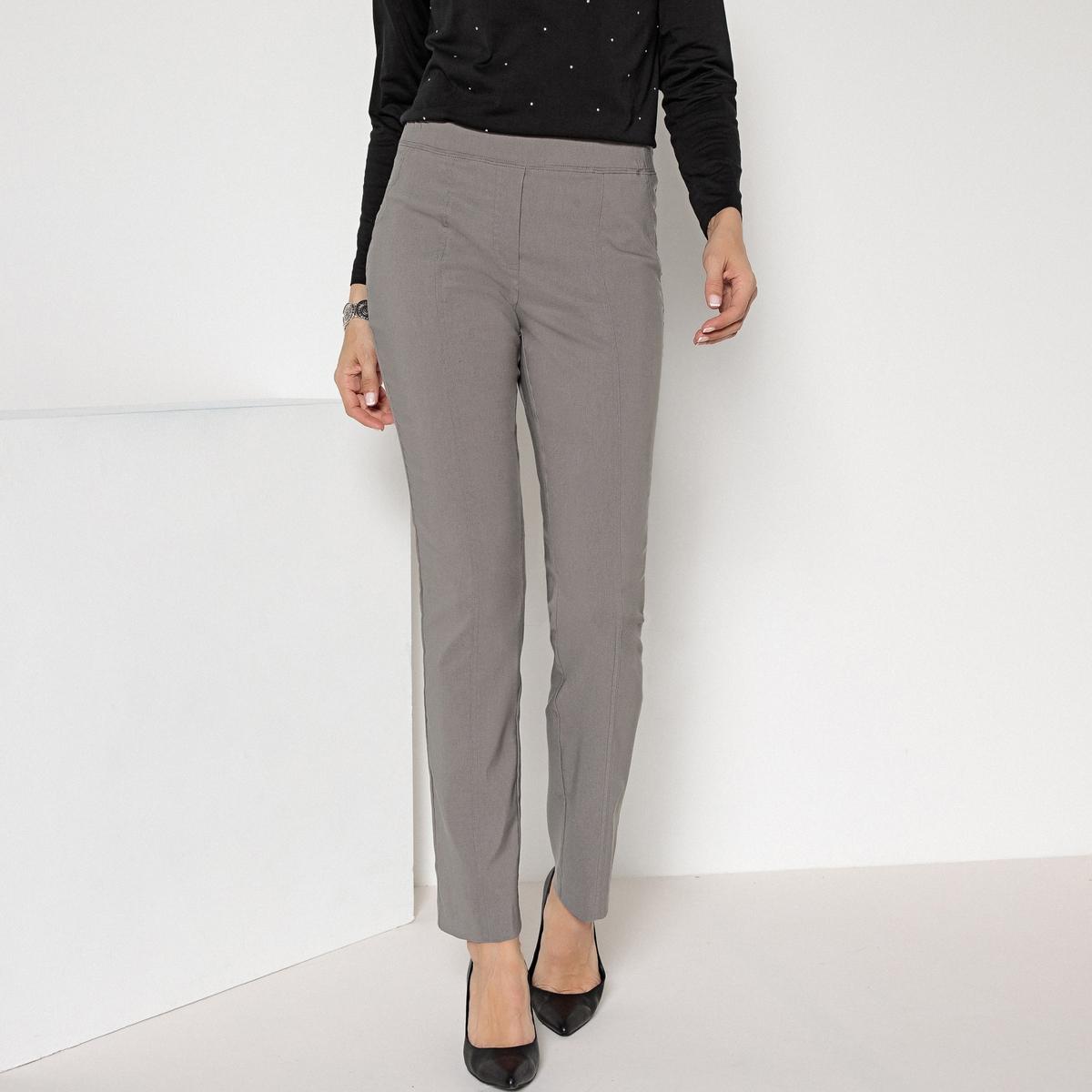 Imagen adicional de producto de Pantalón urbano stretch con cortes estilizadores - Anne weyburn