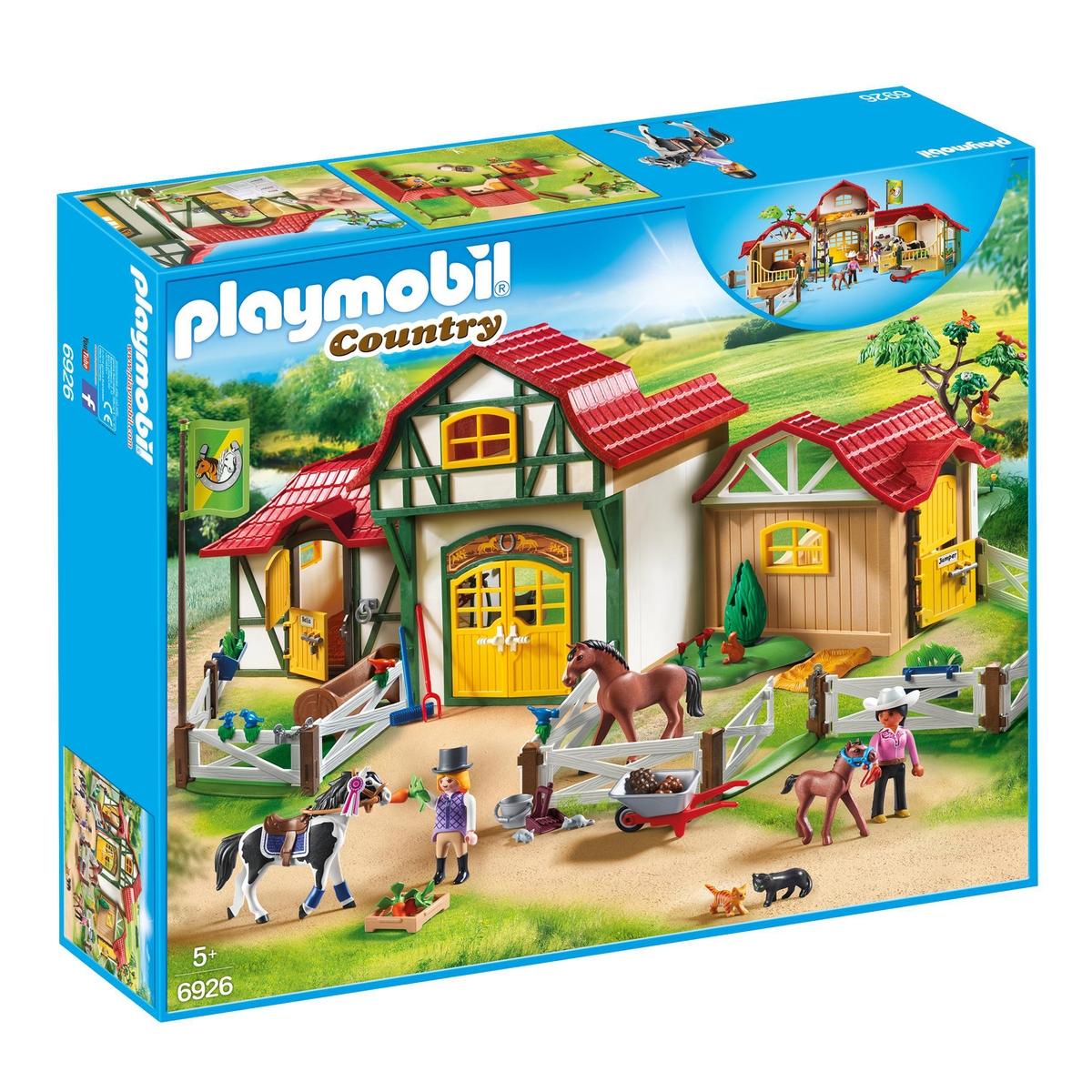 An image of Playmobil 6926 Horse Farm
