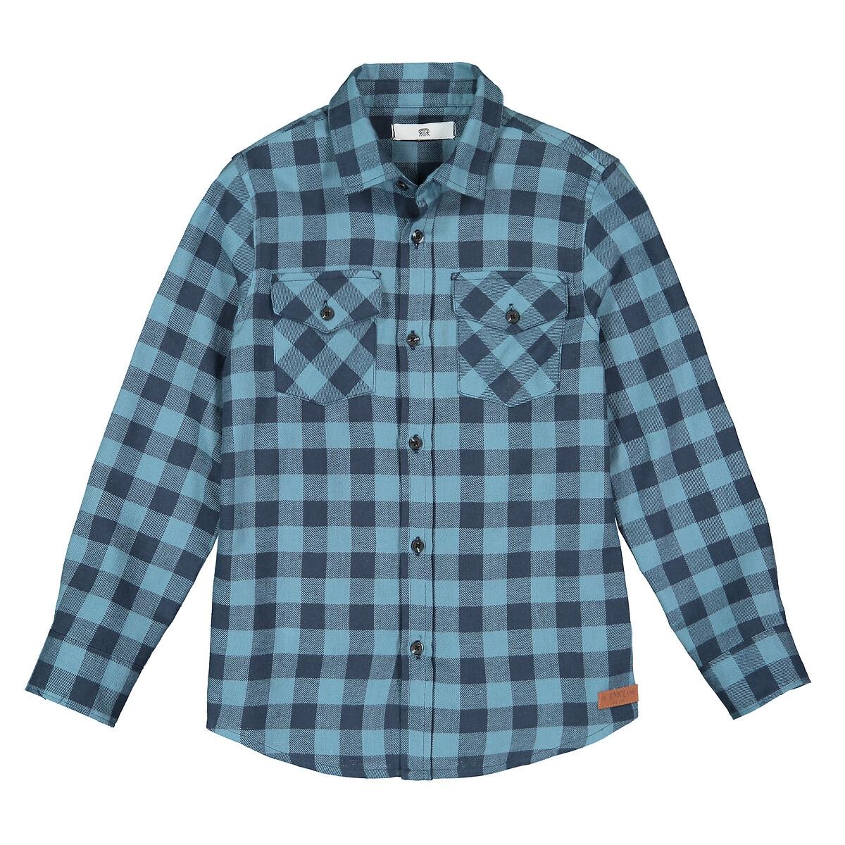 Cotton Checked Shirt 3 12 Years