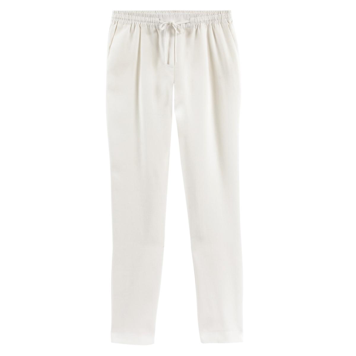 Pantalón slim pitillo de Lyocell