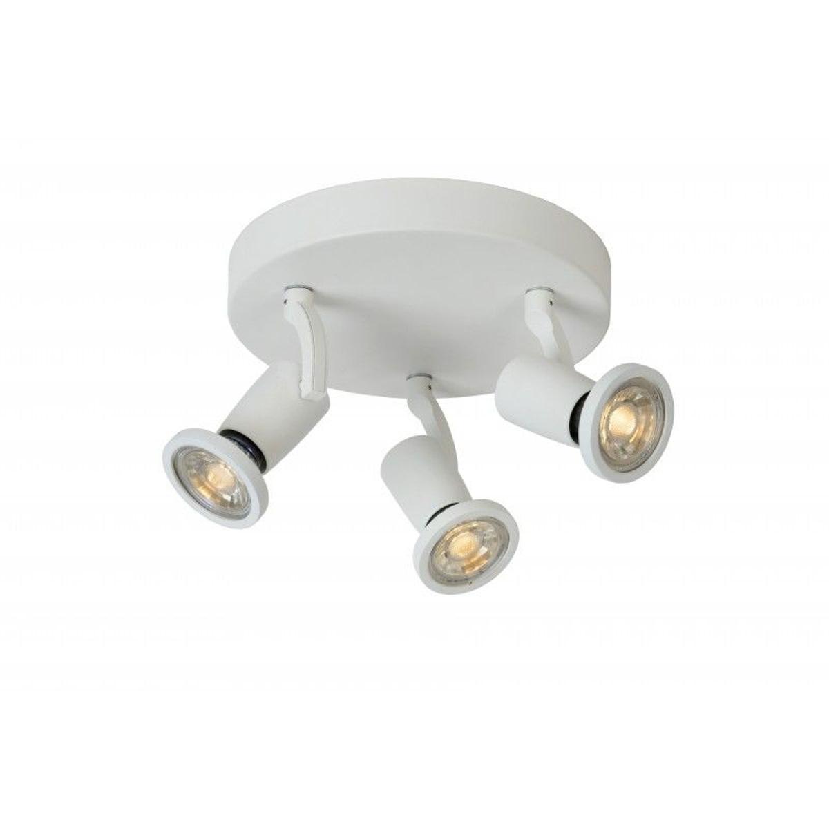 Spot Plafond Jaster LED - D20 cm - LED - GU10 - 3x5W 2700K