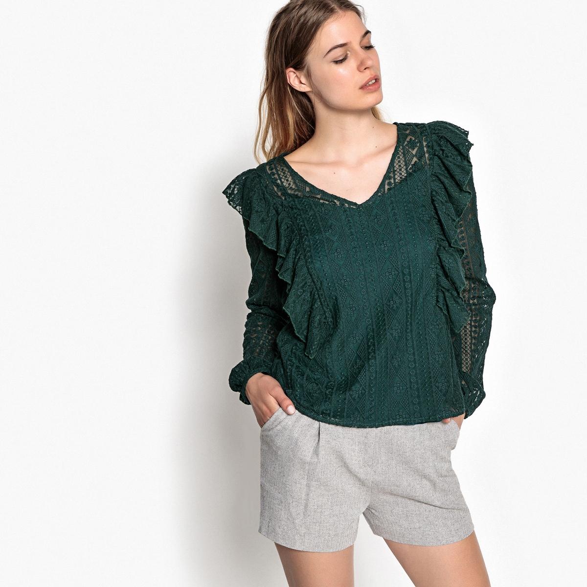 Блузка однотонная с V-образным вырезом и длинными рукавами lovaru ™ 2015 летом стиль женщин моды платье с длинными рукавами v образным вырезом высокое качество мягкие и удобные платья горячей продажи