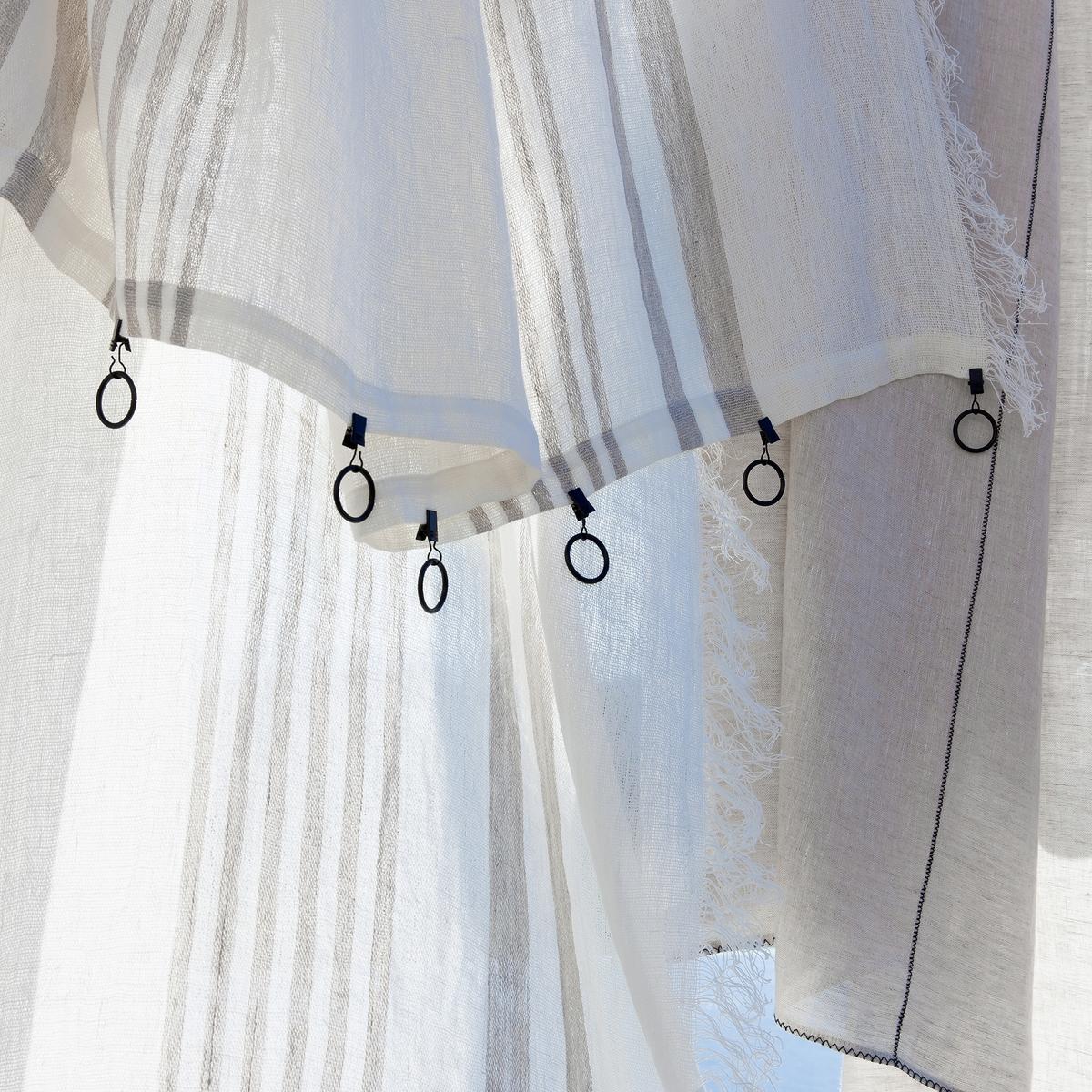 Image of Aglaia Pure Single Linen Curtain