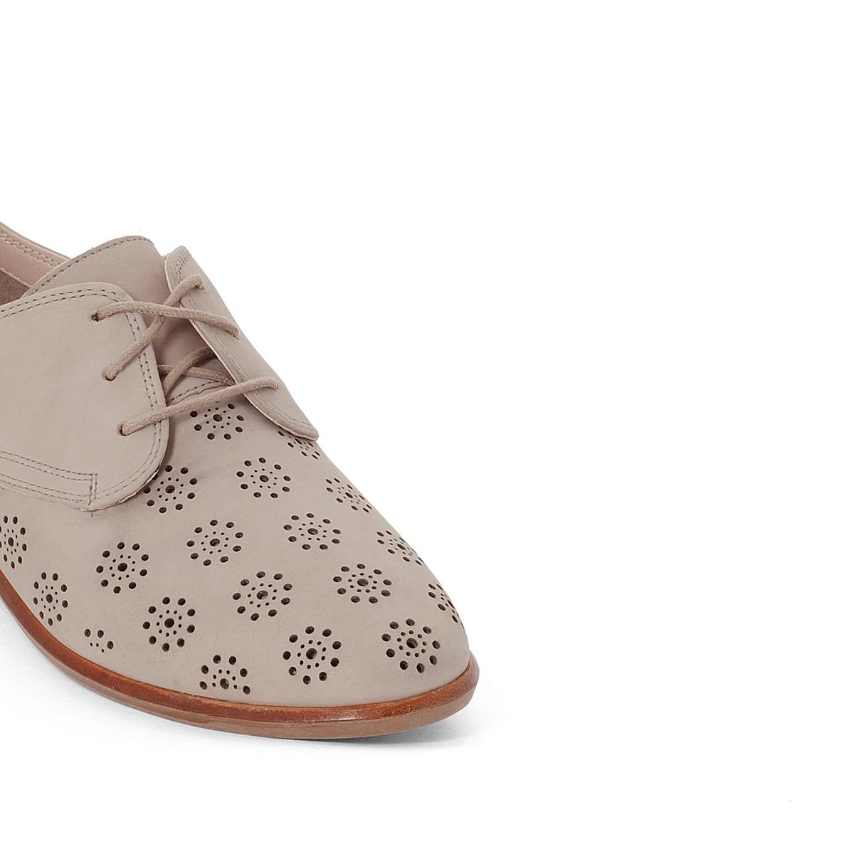 Ботинки-дерби кожаные Alania PoseyВерх : Кожа (нубук)Подкладка : Кожа.   Стелька : Кожа.   Подошва : Каучук   Высота каблука : 2 см.   Форма каблука : плоский каблук   Мысок : закругленный   Застежка : Шнуровка<br><br>Цвет: серый