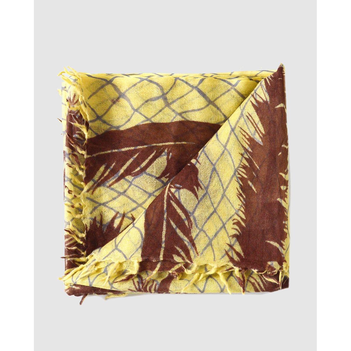 Foulard rectangulaire  à imprimé géométrique