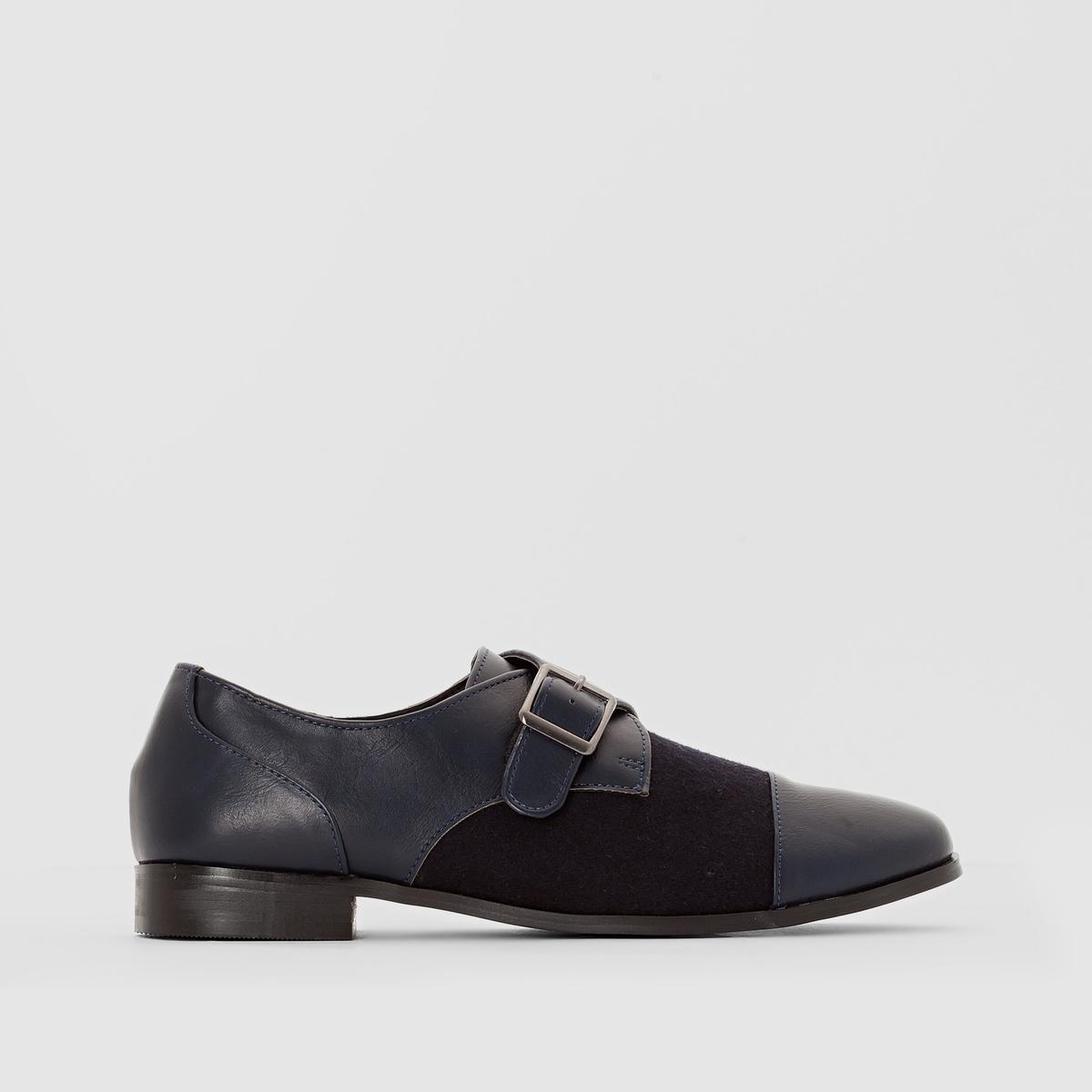 Ботинки-дерби с пряжками