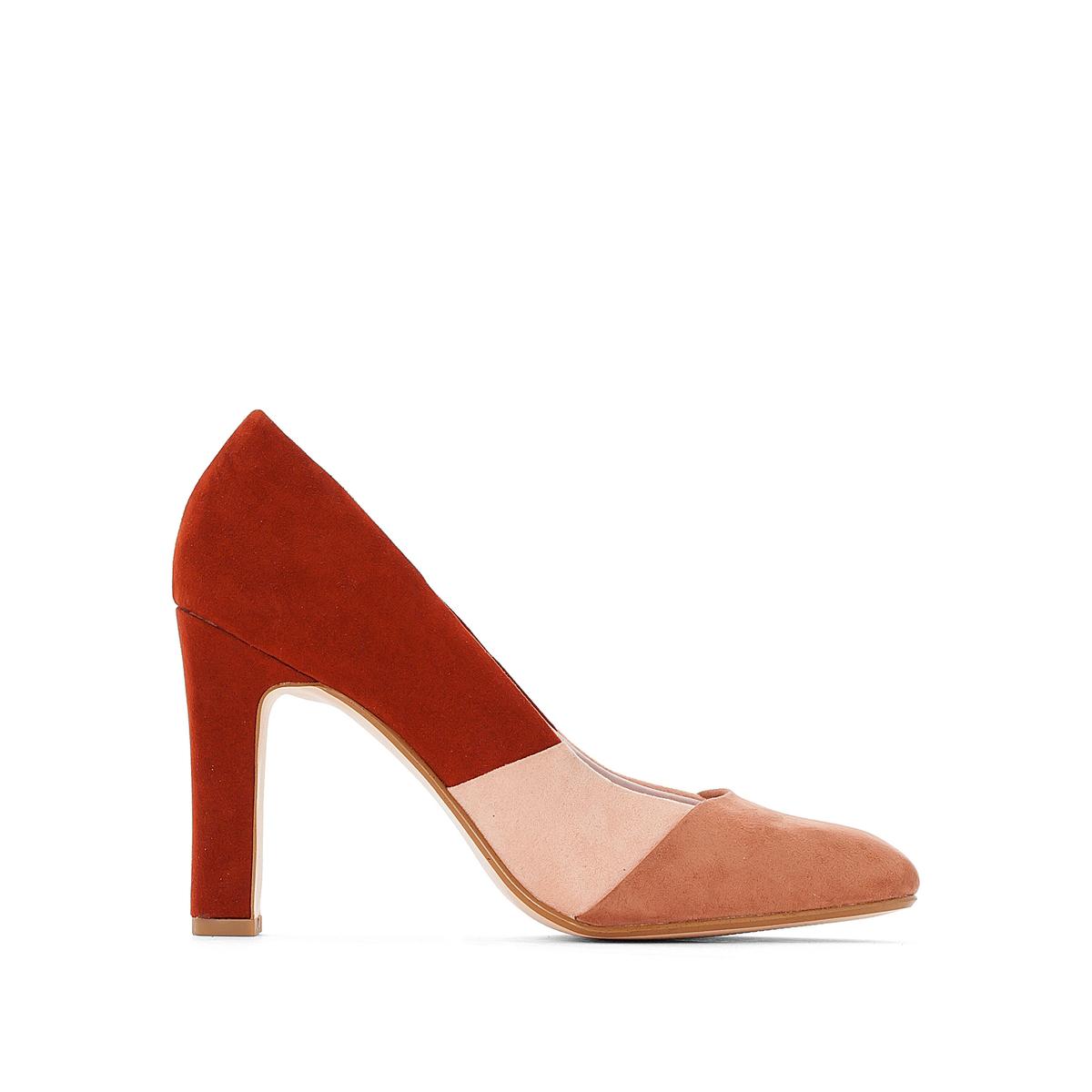 Туфли из синтетики