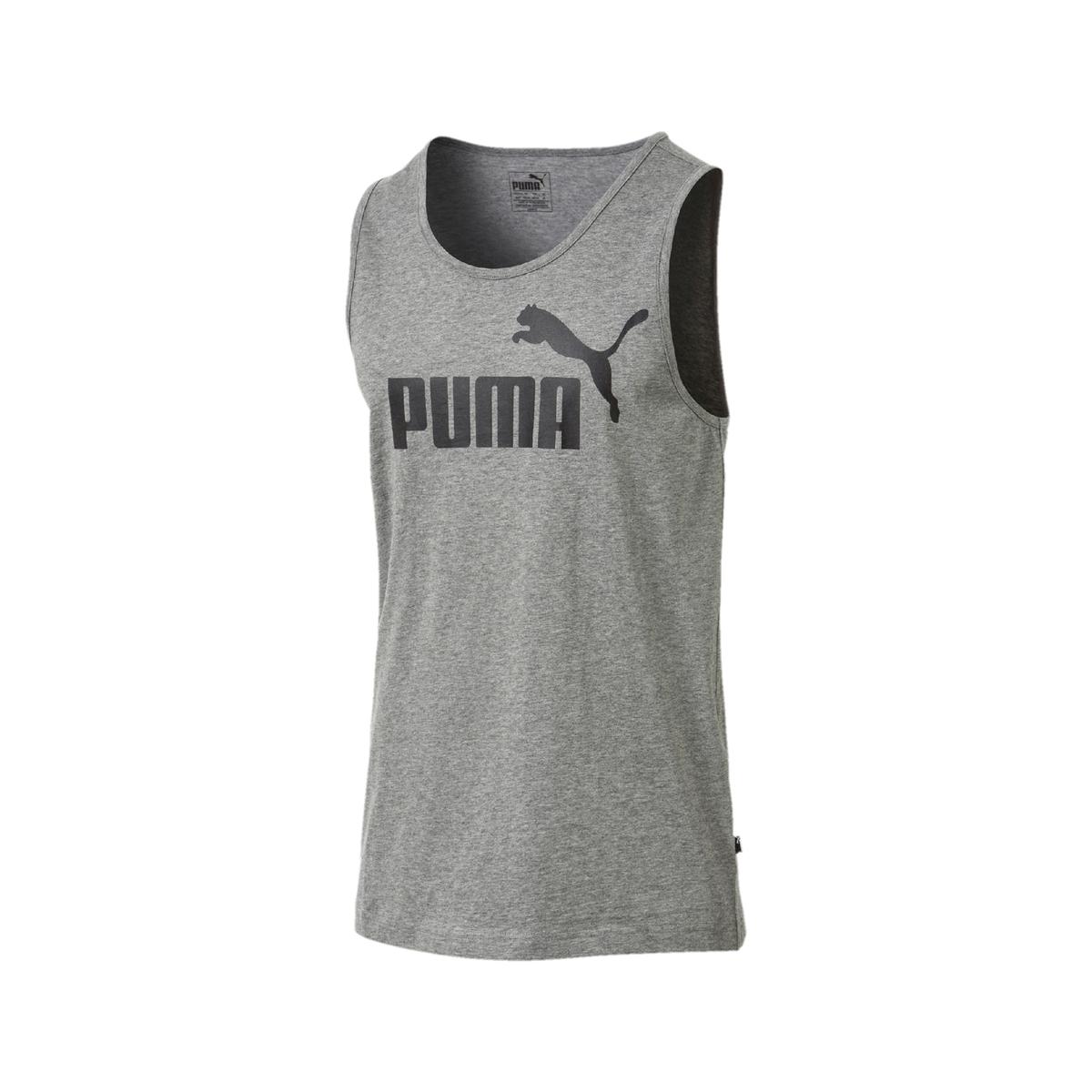Camiseta sin mangas con logo delante