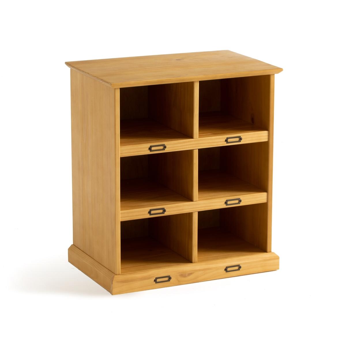 шкаф la redoute lindley единый размер каштановый Полка La Redoute Для обуви Lindley единый размер каштановый