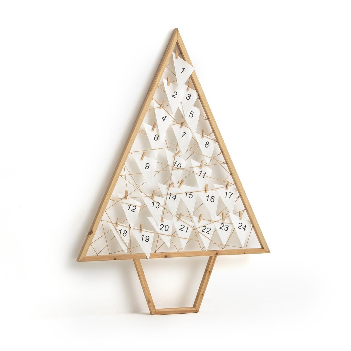 Календарь рождественский в форме дерева из дерева CASPAR