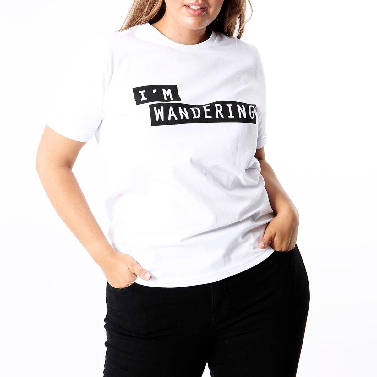 T-shirt imprimé col rond