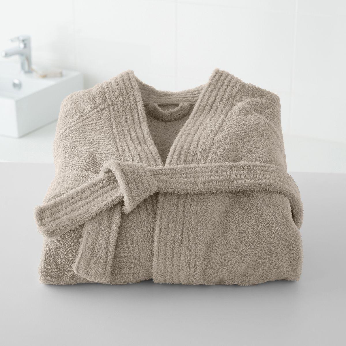 Peignoir éponge col kimono 450g/m²