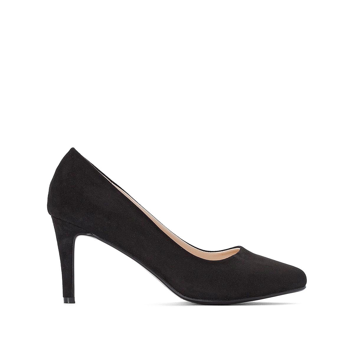 цена на Туфли La Redoute С заостренным мыском на высоком каблуке для широкой стопы размеры - 38 черный