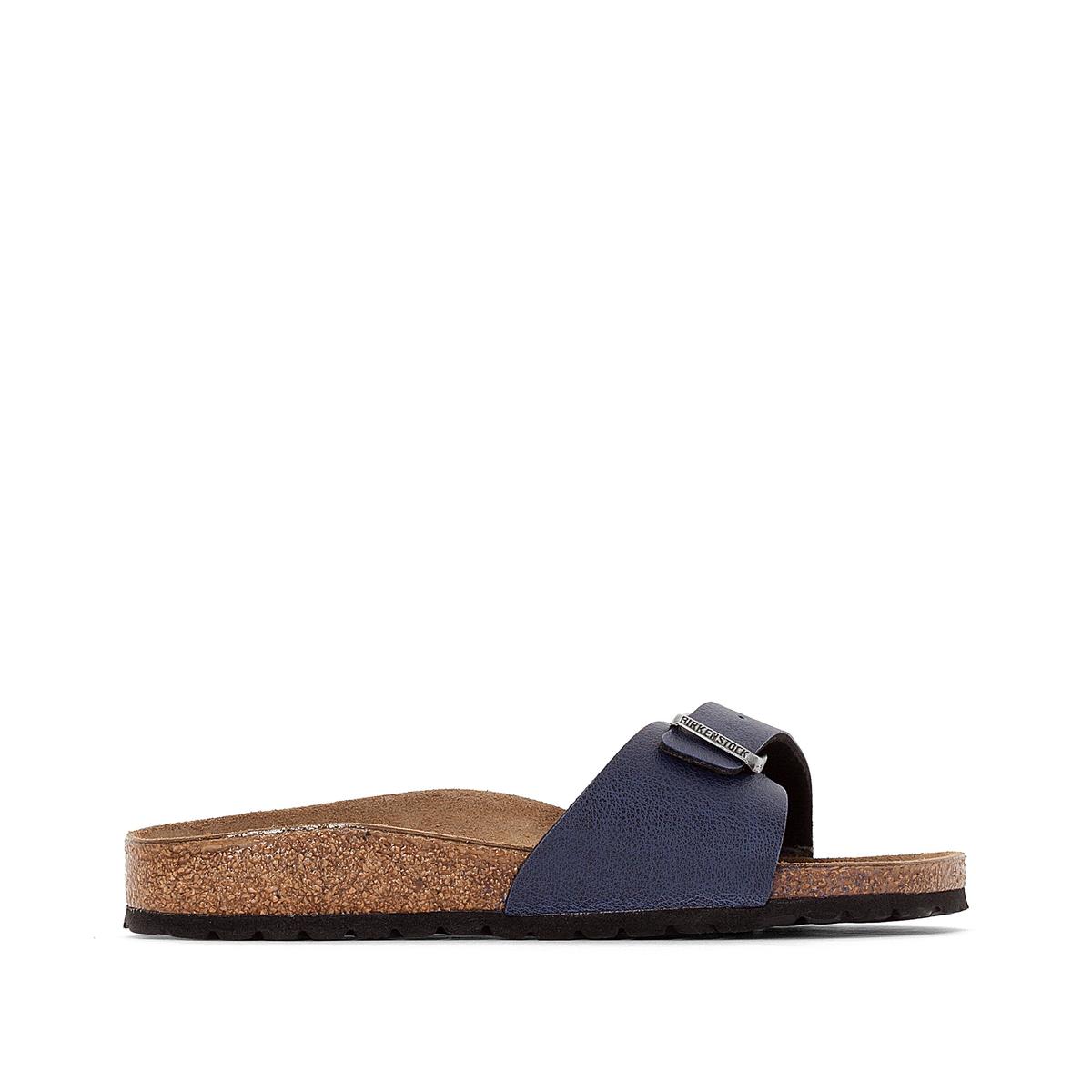 Туфли без задника с эффектом пуллап MADRIDВерх : синтетический материал (Birko-Flor)           Подкладка : фетр         Стелька : велюровая кожа         Подошва : ЭВА         Застежка : без застежки<br><br>Цвет: темно-синий
