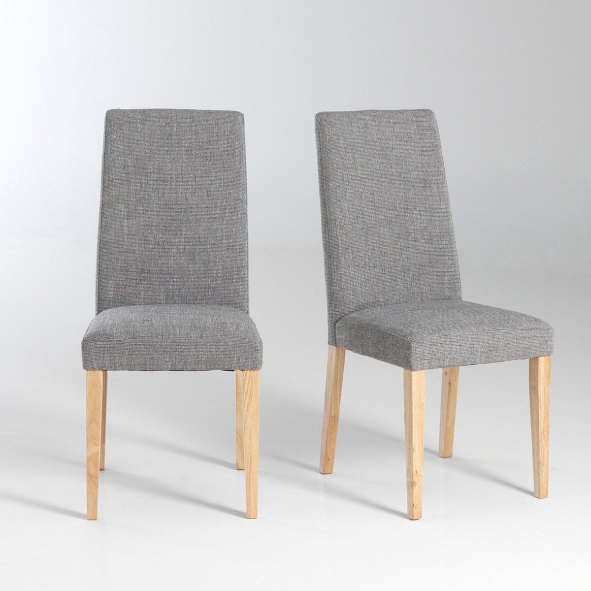 2 стула, DILLYКомплект из 2 стульев Dilly : в классическом и современном стиле одновременно ! Описание стульев Dilly :Поддержка сиденья стяжками .Для оптимального качества и устойчивости рекомендуется надежно затянуть болты. Характеристики стульев Dilly :Из гевеи с ПУ-лакировкой .Спинка с полиэфирным наполнителем (30 кг/м?).Обивка: 75% полиэстера, 25% хлопкаОткройте для себя всю коллекцию Dilly на нашем сайте..Размеры стула Dilly :Ширина : 44 смВысота : 96 см.Глубина : 50 см.Сиденье : 44 x 48 x 44 см .Доставка :Стулья Dilly доставляются в разобранном виде. Возможна доставка до квартиры по предварительному согласованию !Внимание ! Убедитесь, что дверные, лестничные и лифтовые проемы позволяют осуществить доставку коробки таких габаритов .<br><br>Цвет: серый меланж