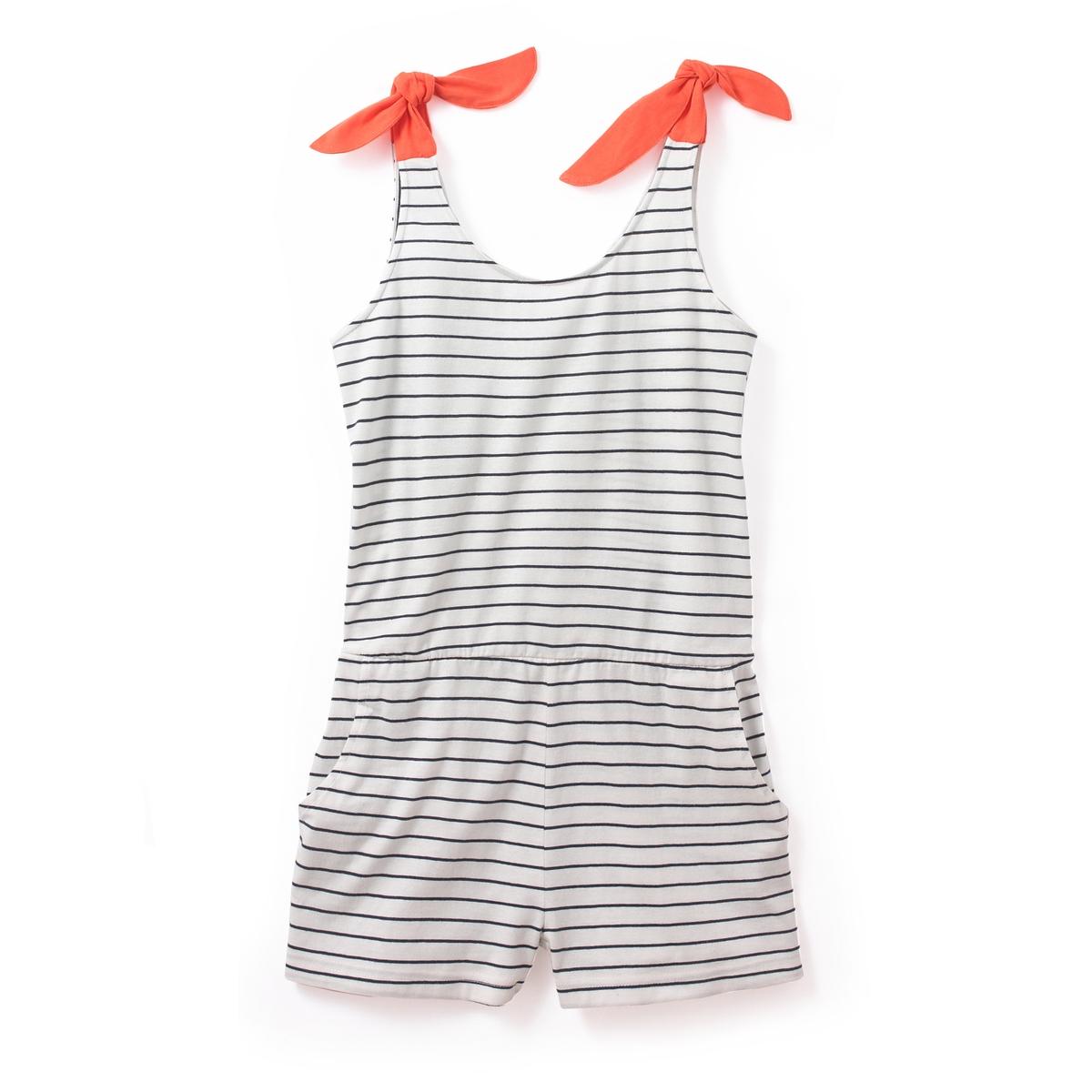 Пижама-комбинезон с шортами из трикотажа 10-16 лет