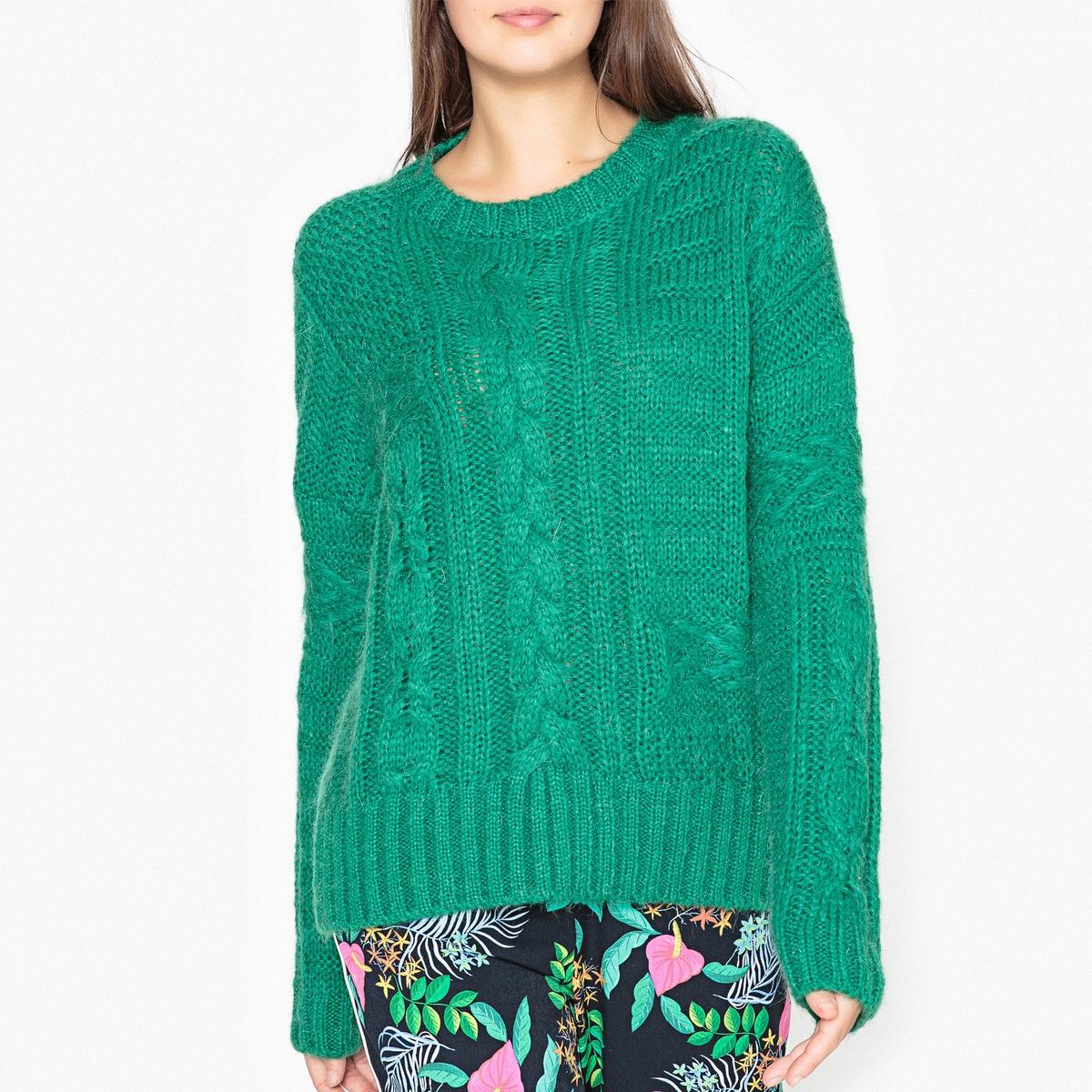 Пуловер объемного покроя ORK