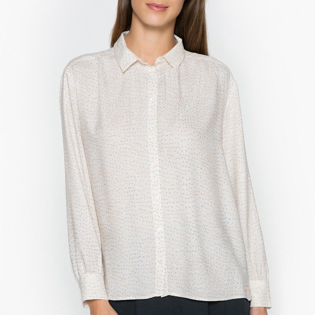 Рубашка с рисунком CHADE рубашка harris wilson harris wilson ha019emqpi74
