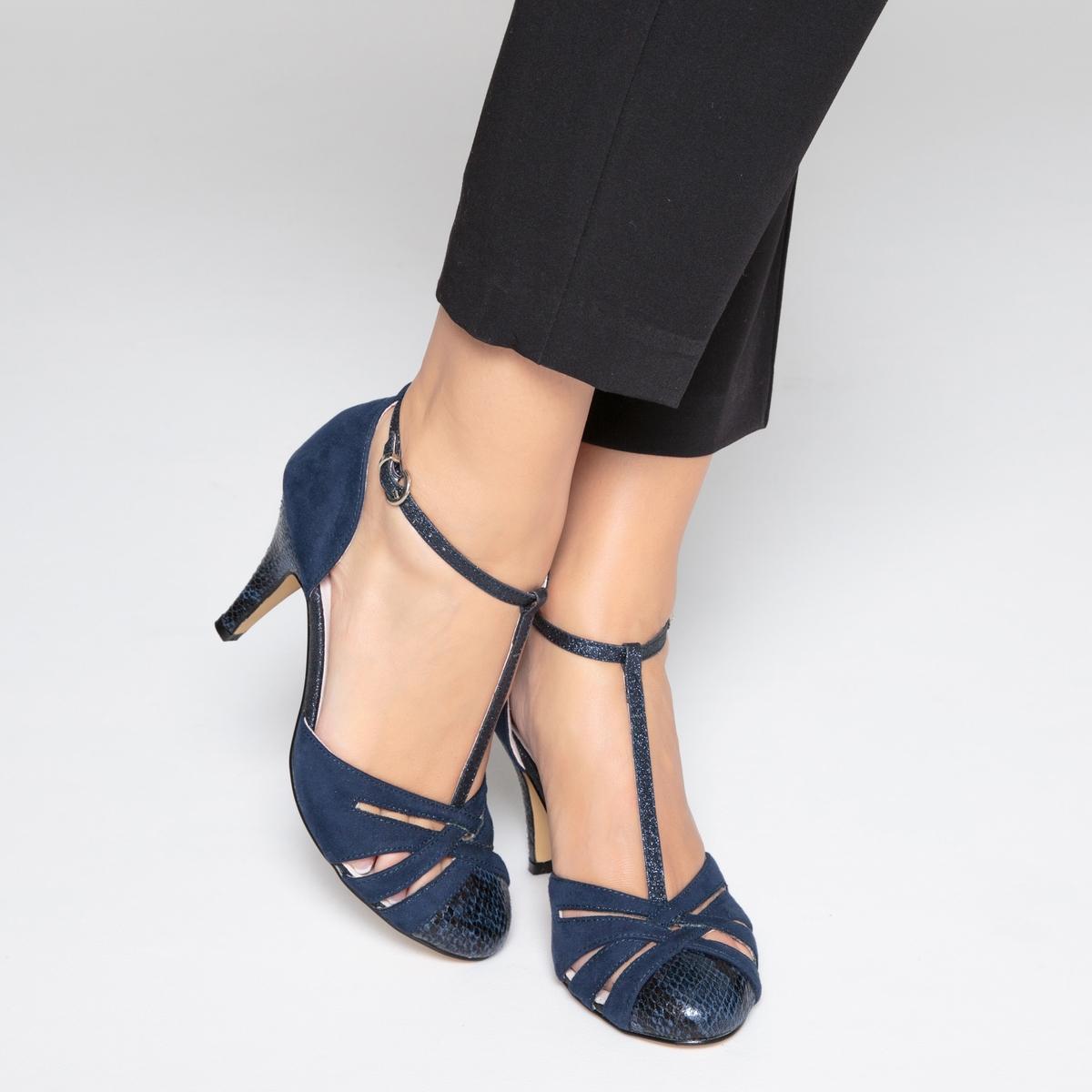 Сандалии на каблуке под кожу питона ботинки дерби под кожу питона