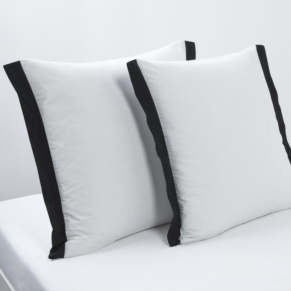 Наволочка квадратная Epure, черно-белого цвета