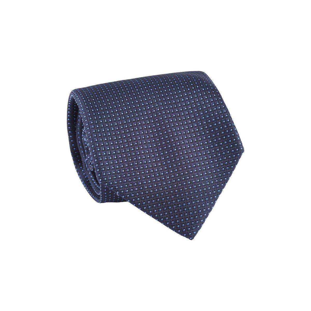 Cravate 100% soie à pois