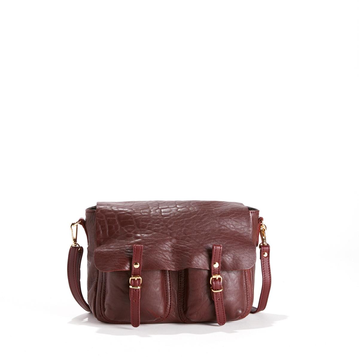 Сумка из кожи и ткани MINI MATHSОписание:Двусторонняя сумка CRAIE  - модель MINI MATHS CUIR BUBBLE с модулируемыми деталями из кожи и ткани.Детали    •  Двусторонняя и модулируемая при помощи кнопок сумка-портфель •  Можно носить в руке, на плече или как рюкзак благодаря съемной ручке, плечевому ремню и кольцу •  Застежка на 2 кнопки со взаимозаменяемыми пряжками •  Карманы с клапанами •  2 небольших кармана с изнаночной стороны. •  Размеры 26 x 18 x 8 см: маленькая модельСостав и уход    •  Овечья кожа •  Подкладка из хлопковой ткани  •  Следуйте советам по уходу, указанным на этикетке<br><br>Цвет: бордовый,черный