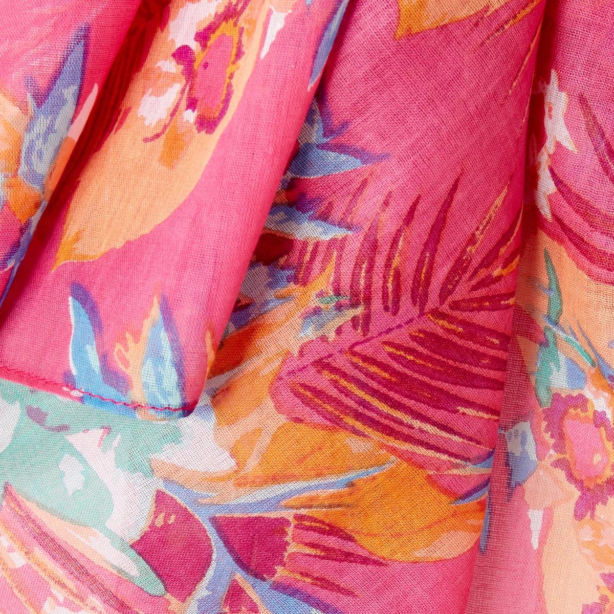 Платок с цветочным рисунком