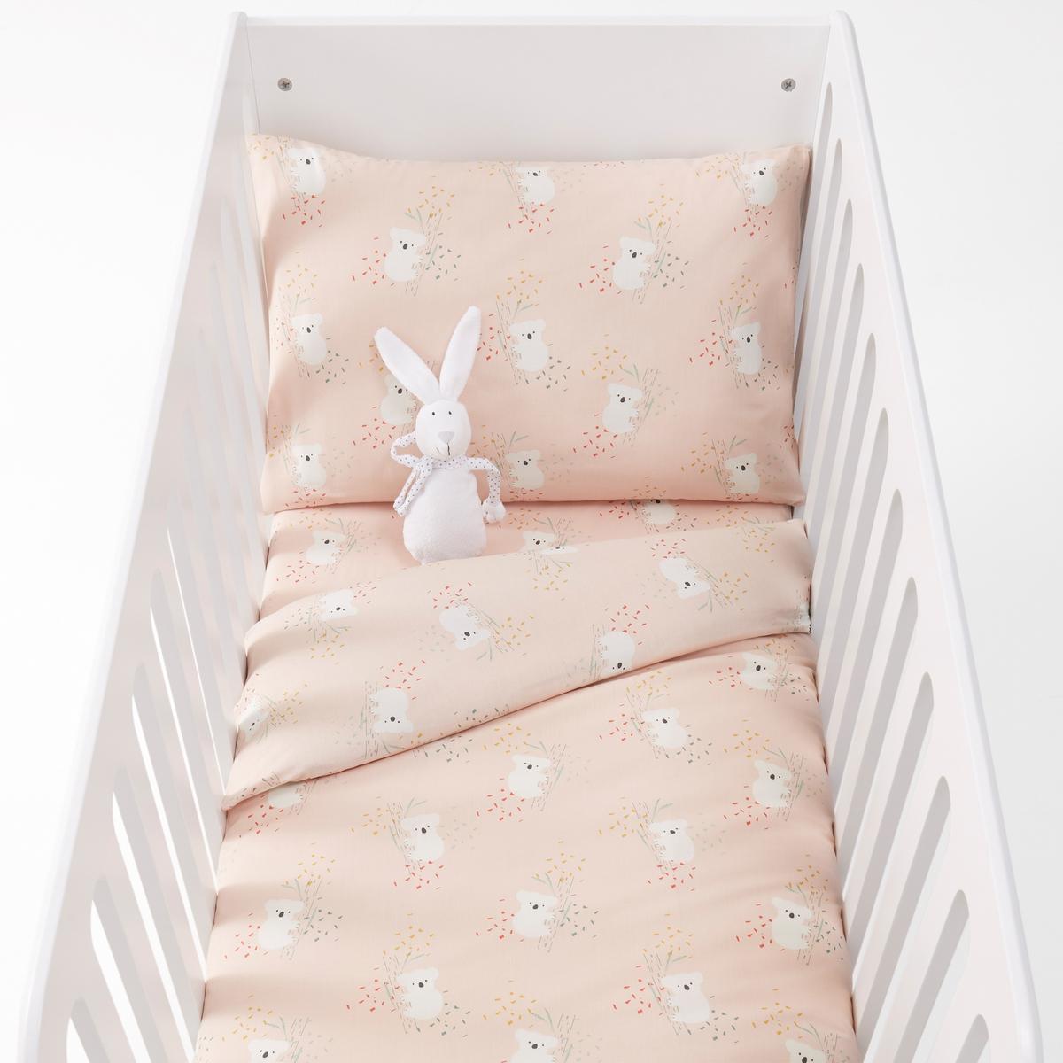 Постельное белье для детской кроватки с рисунком коалы LOUISA louisa